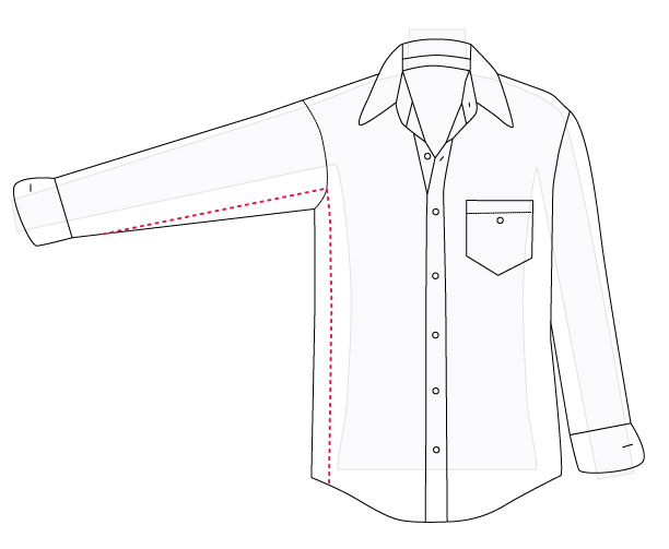 How to alter a men s shirt part 2 amy alan really for How much to get a shirt tailored
