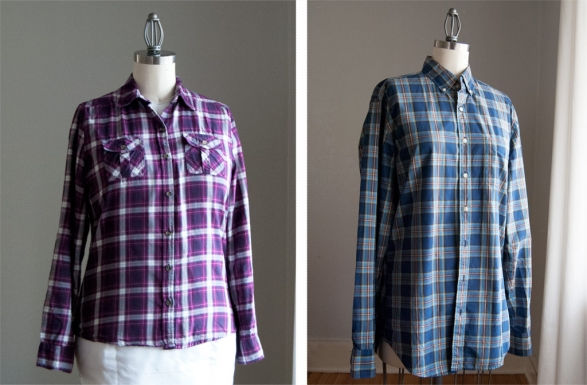 SewPlaid-shirts