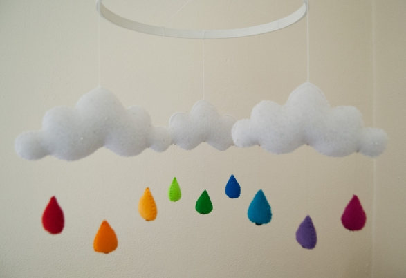 Cloud-Mobile-Rainbow-Raindrops
