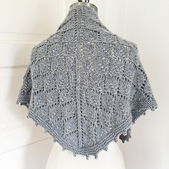 Lonely Tree Shawl by ReallyHandmade.com